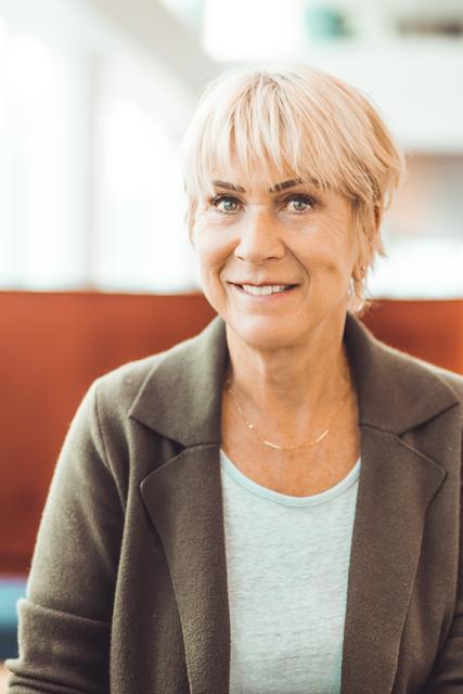 Ingrid Torrekens, gérante et fondatrice de notre société de nettoyage Alga Clean