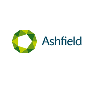 Logo Ashfield pour références clients Alga Clean