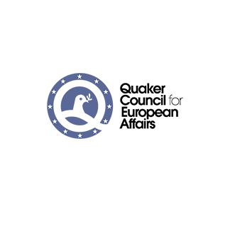 Logo Quaker Council for European Affairs pour références clients Alga Clean